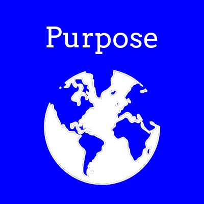 Purpose reminds us that the world as it is doesn't have to be this way and that religion, at its best, is about making the world better because we are in it.