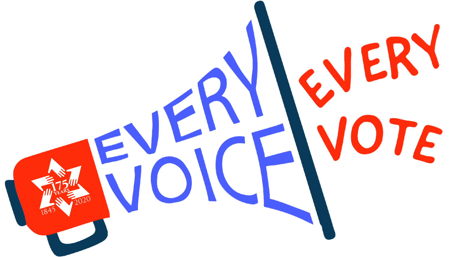 Every Voice, Every Vote Logo