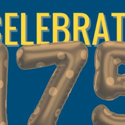 175 Anniversary Balloons